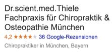 chiropraktik münchen bewertung